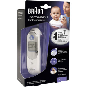 Braun Ear Thermometer IRT 6500